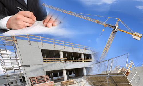 General Contractors job site